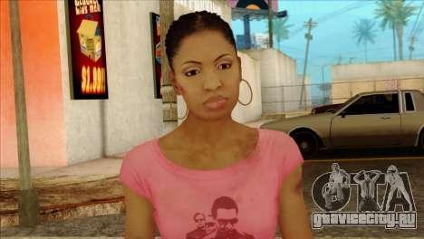 Rochelle from Left 4 Dead 2 для GTA San Andreas третий скриншот