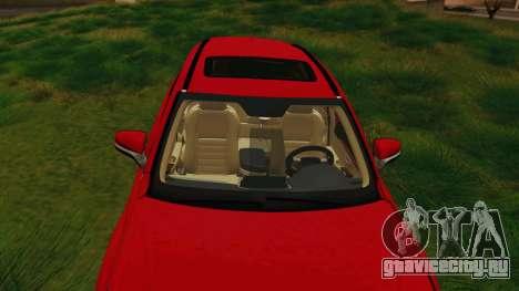 Lexus NX200T v2 для GTA San Andreas вид изнутри
