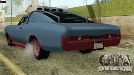 GTA 5 Imponte Dukes ODeath HQLM для GTA San Andreas вид слева