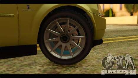 GTA 4 Presidente для GTA San Andreas вид сзади слева