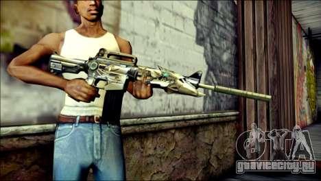 M4A1 Transformer CrossFire для GTA San Andreas третий скриншот