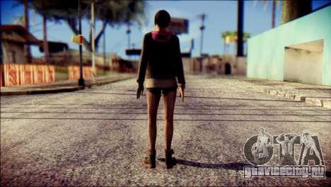 Moira Burton from Resident Evil для GTA San Andreas второй скриншот