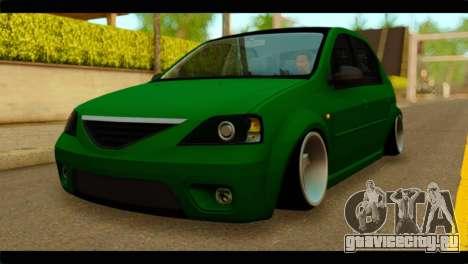 Dacia Logan Stance для GTA San Andreas