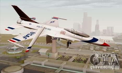 F-16C USAF Thunderbirds для GTA San Andreas