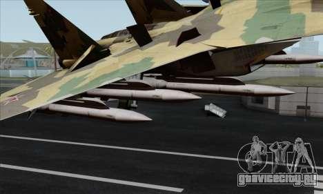 SU-35 Flanker-E ACAH для GTA San Andreas вид справа