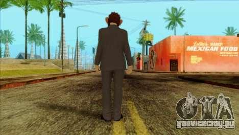 Skin from GTA 5 для GTA San Andreas второй скриншот
