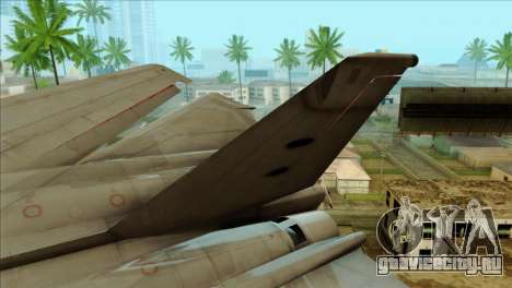 SU-27SK Indonesian Air Force для GTA San Andreas вид сзади слева