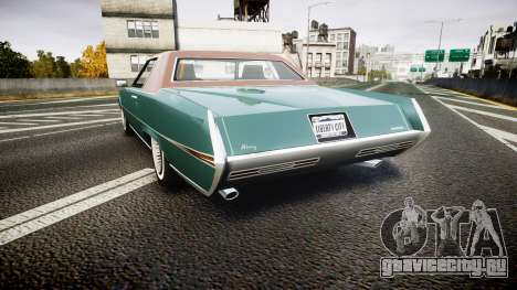 Albany Manana GTA V Style для GTA 4 вид сзади слева