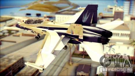 FA-18D Hornet RCAF для GTA San Andreas вид слева