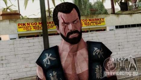 Sub-Zero Skin Mortal Kombat X для GTA San Andreas третий скриншот