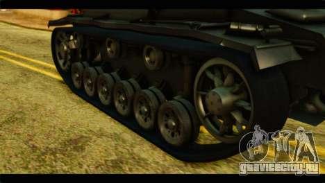 StuG III Ausf. G Girls und Panzer для GTA San Andreas вид сзади