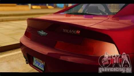 MP3 Dewbauchee XSL650R для GTA San Andreas вид сзади