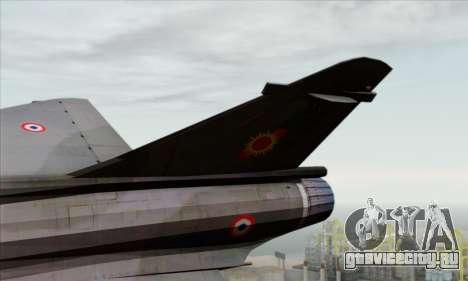 Dassault Mirage 2000-N SAM для GTA San Andreas вид сзади слева