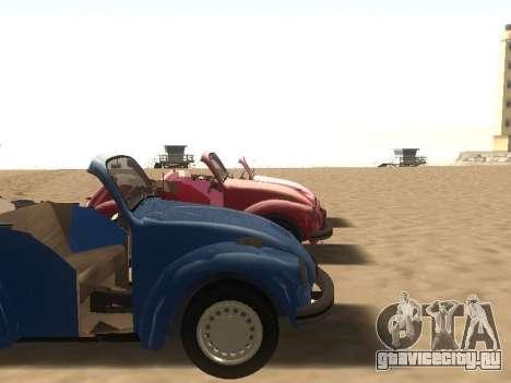 Volkswagen Beetle 1984 для GTA San Andreas