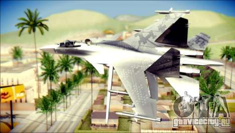 SU-37 Hexagon Madness для GTA San Andreas вид слева