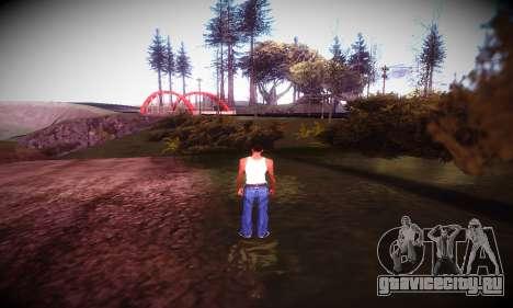Ebin 7 ENB для GTA San Andreas пятый скриншот