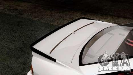 Opel Manta 400 v2 для GTA San Andreas вид сзади
