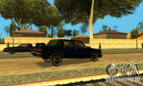 Beta VC Greenwood для GTA San Andreas вид снизу