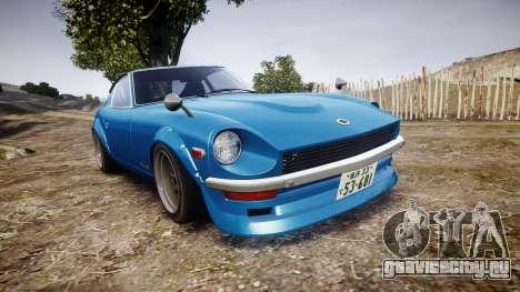 Nissan Fairlady Z (S30) Devil Z для GTA 4