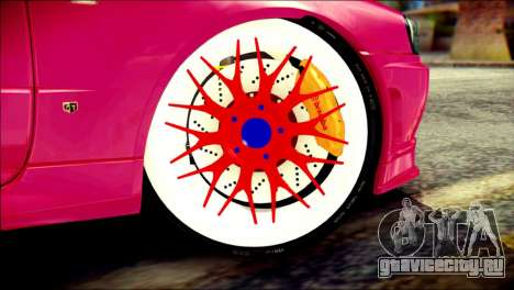 Nissan Skyline GTR V Spec II для GTA San Andreas вид сзади слева