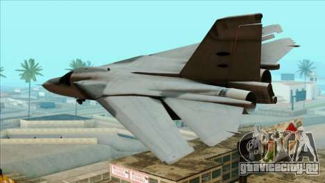 General Dynamics F-111 Aardvark для GTA San Andreas вид слева