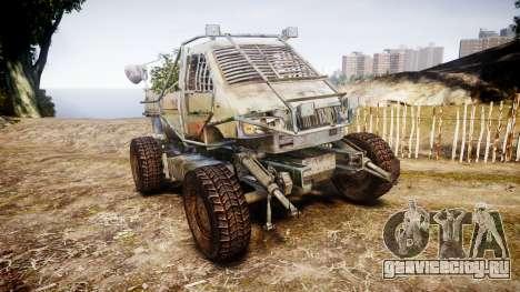 Военный бронированный грузовик для GTA 4
