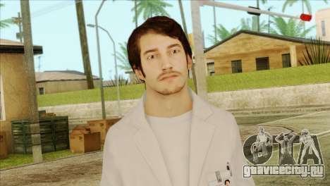 Takedown Redsabre NPC Scientist для GTA San Andreas третий скриншот