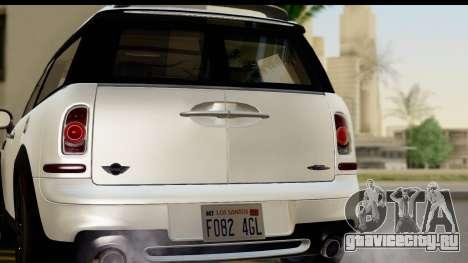 Mini Cooper Clubman 2011 для GTA San Andreas вид справа