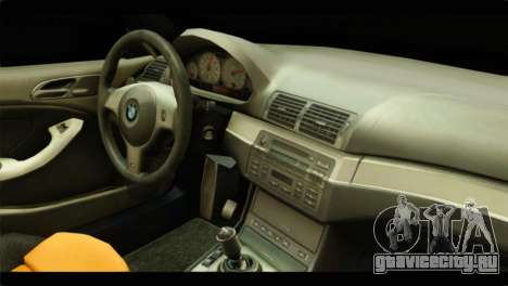 BMW 330 Tuning Red Dragon для GTA San Andreas вид сзади