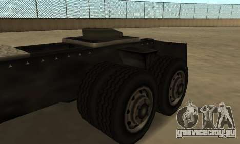 PS2 Tanker для GTA San Andreas вид сзади