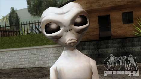 Zeta Reticoli Alien Skin from Area 51 Game для GTA San Andreas третий скриншот