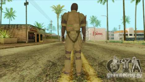 Metal Gear Solid 5: Ground Zeroes MSF v2 для GTA San Andreas второй скриншот