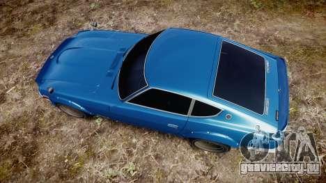 Nissan Fairlady Z (S30) Devil Z для GTA 4 вид справа