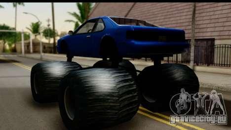 Monster Fortune для GTA San Andreas вид слева