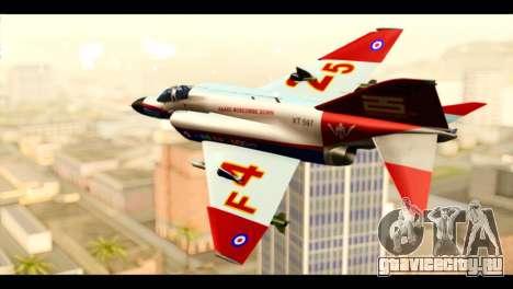 McDonnell Douglas F-4E Phantom II для GTA San Andreas вид слева