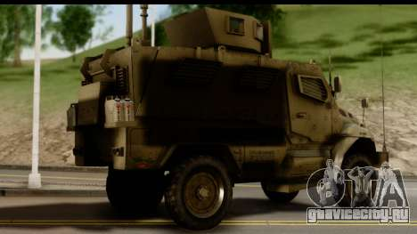 International MaxxPro MRAP для GTA San Andreas вид слева