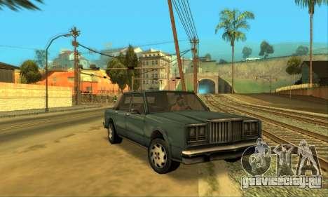 Beta VC Greenwood для GTA San Andreas вид изнутри