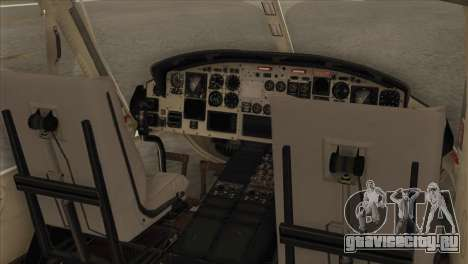 Agusta-Bell AB-212 Croatian Police для GTA San Andreas вид сзади