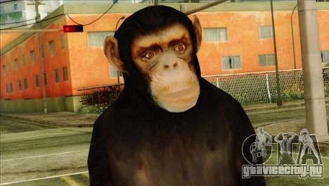 Monkey Skin from GTA 5 v1 для GTA San Andreas третий скриншот