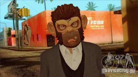 Skin from GTA 5 для GTA San Andreas третий скриншот
