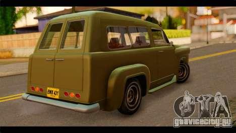 Chevrolet 56 для GTA San Andreas вид слева