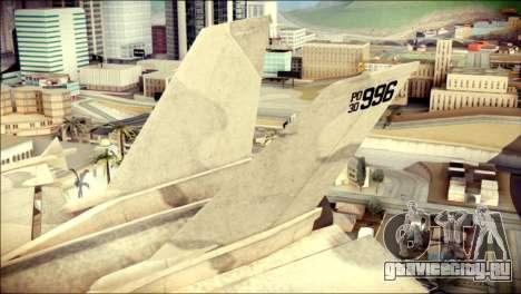 P-996 Lazer для GTA San Andreas вид сзади слева