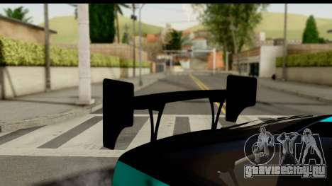 Nissan 200SX S13 Skin для GTA San Andreas вид сзади