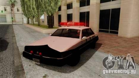 Karin Primo Police для GTA San Andreas