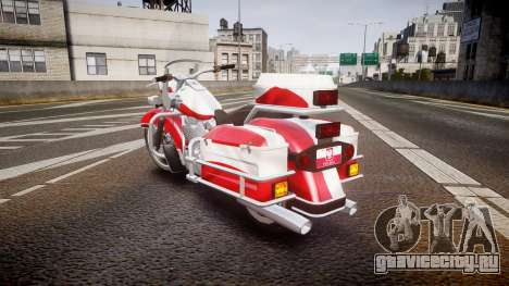 GTA V Western Motorcycle Company Sovereign POL для GTA 4 вид сзади слева