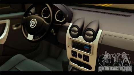 Dacia Logan Stance для GTA San Andreas вид справа