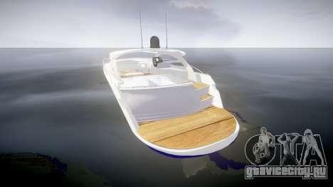Яхта для GTA 4 вид сзади слева