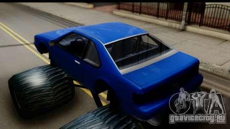 Monster Fortune для GTA San Andreas вид сзади слева