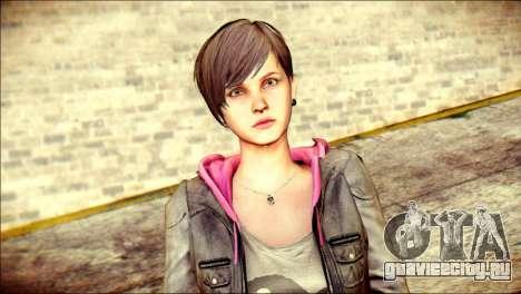 Moira Burton from Resident Evil для GTA San Andreas третий скриншот