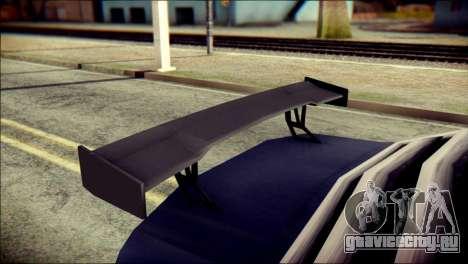 Sentinel GT для GTA San Andreas вид справа